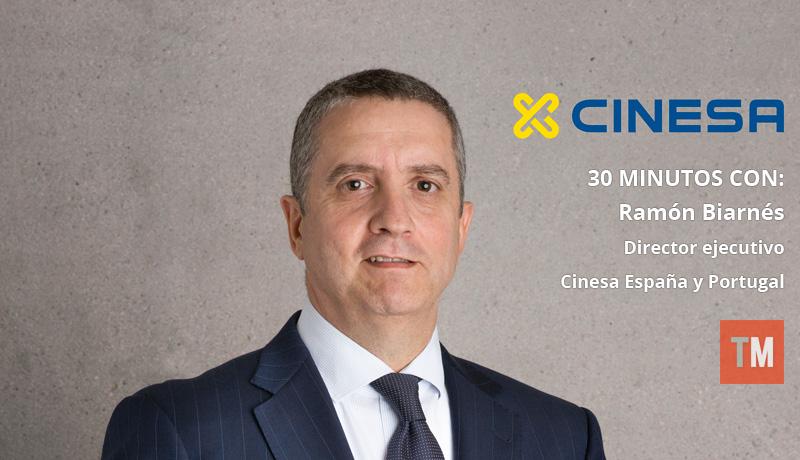 Ramón Biarnés, director ejecutivo de Cinesa España y Portugal