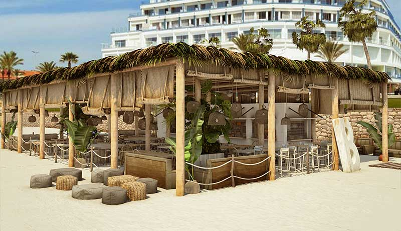 EL nuevo ME Sitges Terramar abre sus puertas de la mano de Beso Beach
