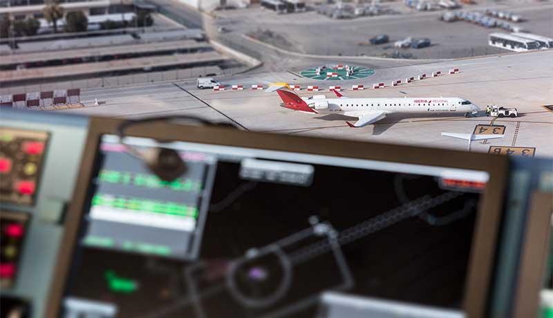 ENAIRE registra récord histórico de tráfico aéreo en 2017