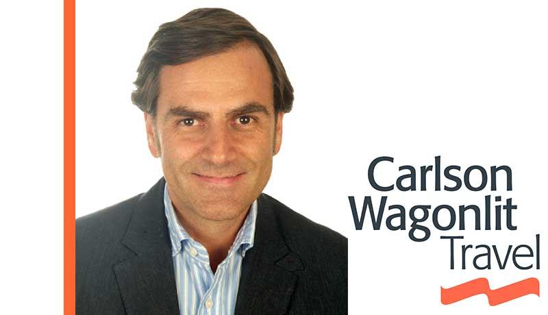 Rafael Sueiro es el nuevo director general de Carlson Wagonlit Travel España