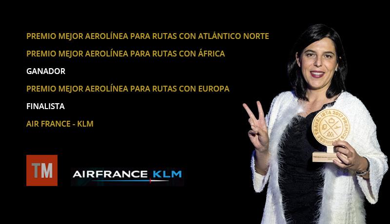 Air France - KLM consigue tres premios Business Travel