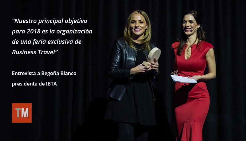 Entrevista a Begoña Blanco, presidenta de IBTA