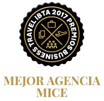 FINALISTA A MEJOR AGENCIA MICE - PREMIOS BUSINESS TRAVEL