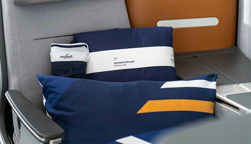 Lufthansa lanza una nueva línea de productos para el descanso en Business Class
