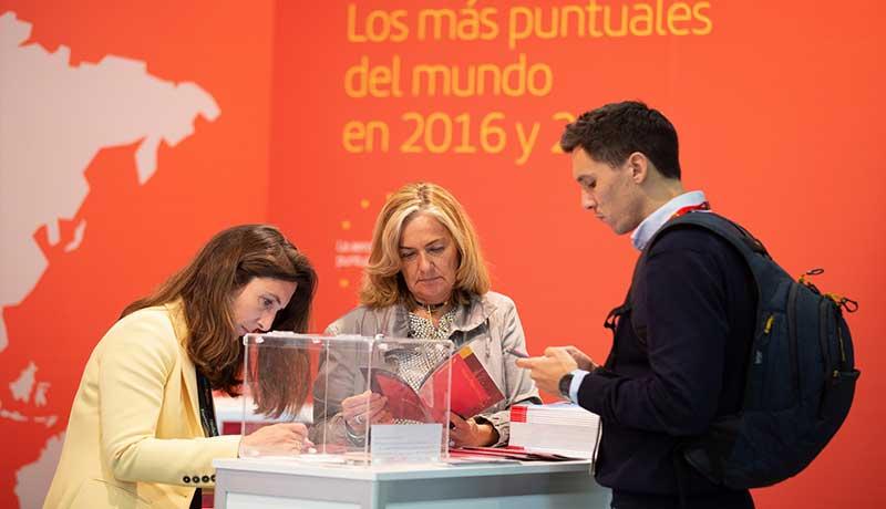 Iberia premia a los visitantes de Expo Turismo de Negocios
