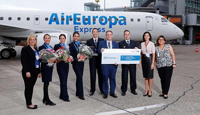 Air Europa incrementa su oferta a Alemania