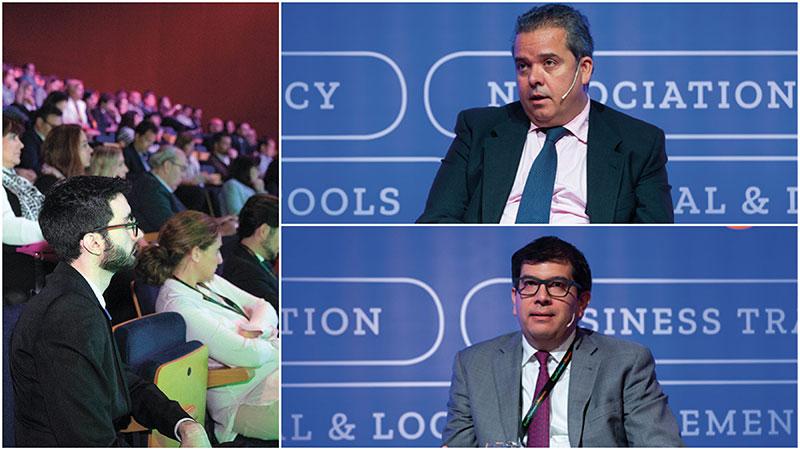 Ricardo Crespo, GBTA Europe Board Member, Manuel Milán, Global Sourcing – Procurement de CEMEX,