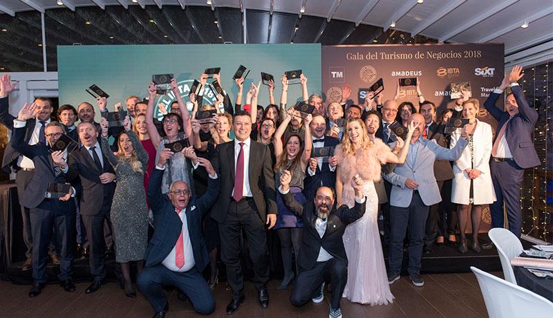 Ganadores de los Premios Business Travel IBTA 2018
