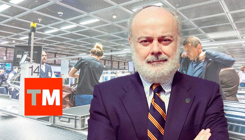 Controles de seguridad en los aeropuertos, autor Juan Muñoz