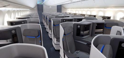 La clasebusiness de los nuevos Boeing 787-9 Dreamliner de Air Europa