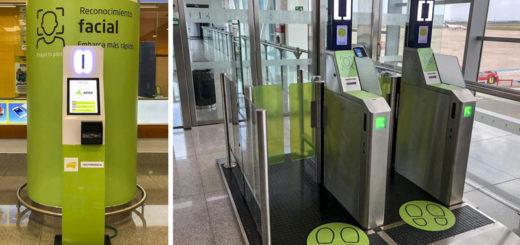 El embarque biométrico facial llega a España