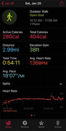 """""""Según mi Apple Watch, quemé 280 calorías, sentí que me moría."""""""