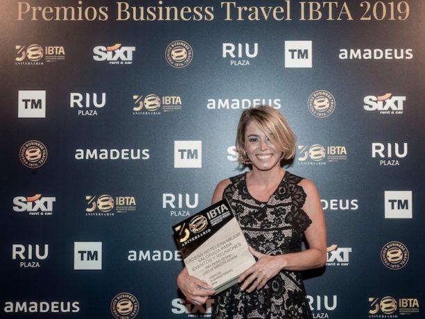 NH hotels reconocida como cadena hotelera segunda mejor valorada premios ibta 2019